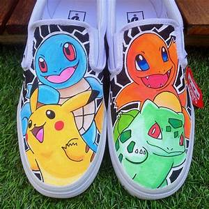 Original 4 Pokemon Vans