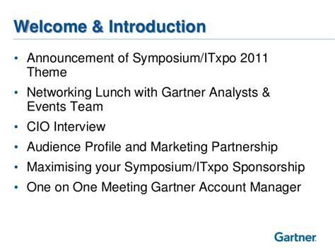 2011 Gartner Symposium Launch Day