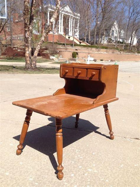 vintage ethan allen end tables vintage ethan allen baumritter heirloom maple nutmeg step