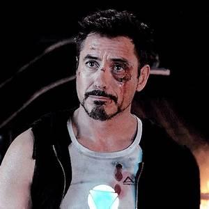 Tony Stark - Iron Man 3. (That precious battered face ...