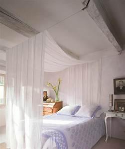 Lit Pour Adulte : un ciel de lit pour une chambre de princesse ~ Teatrodelosmanantiales.com Idées de Décoration