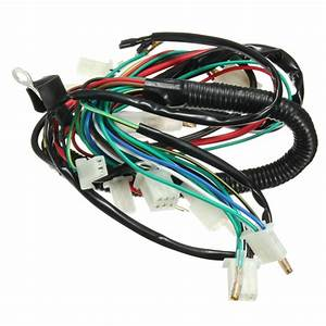 Wiring Harness Loom For Chinese Electric Start Quads 50cc