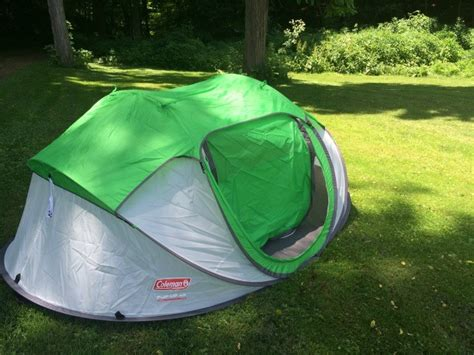 coleman pop up canopy coleman pop up tent does it really set up in 10 seconds