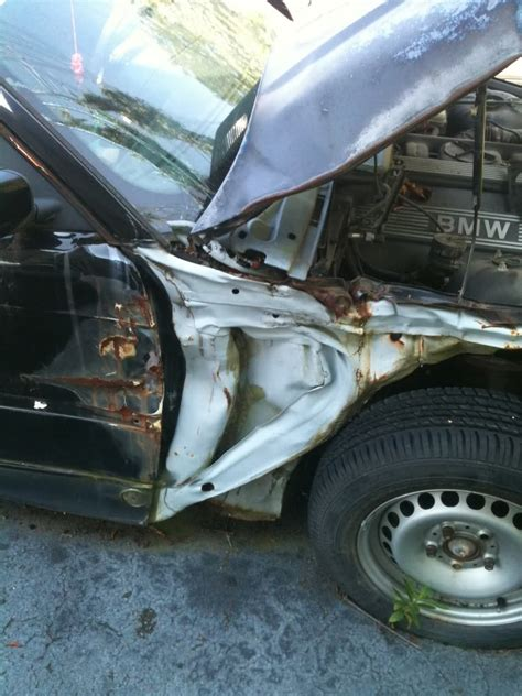 unibody damage repair