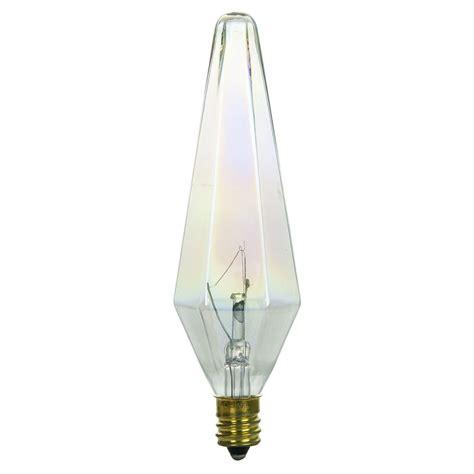 sunlite 34 prismlite candelabra base e12 incandescent