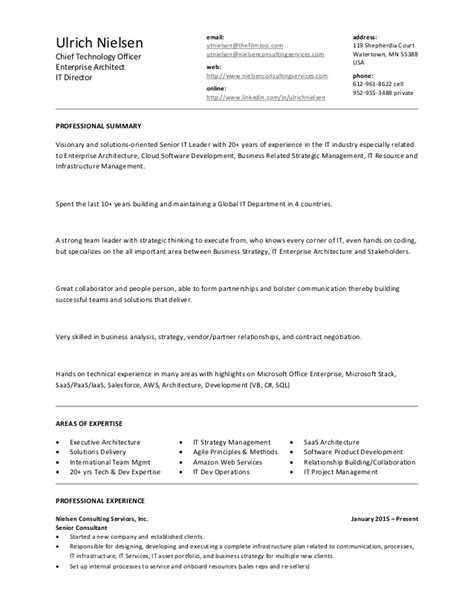 It Enterprise Architect Resume by Senior Enterprise Architect Resume Assignmentseditor Web