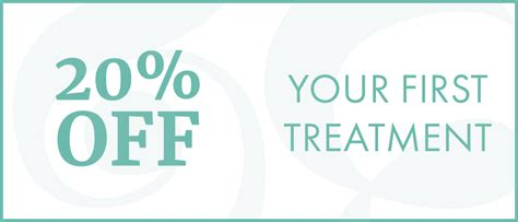 20% Off Your First Treatment