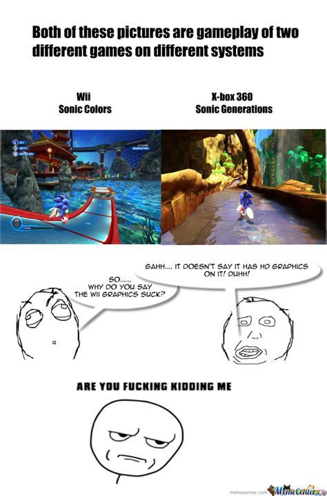 Wii Memes - wii graphics aren t bad by samkirbyfan meme center