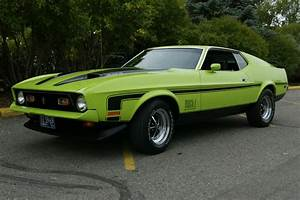 """72 Mach 1 Mustang 