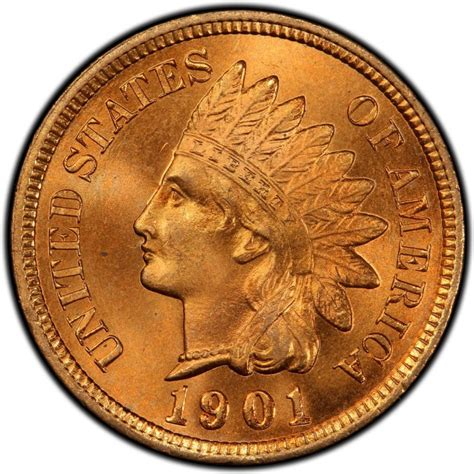 indian value 1901 indian head pennies values and prices past sales coinvalues com