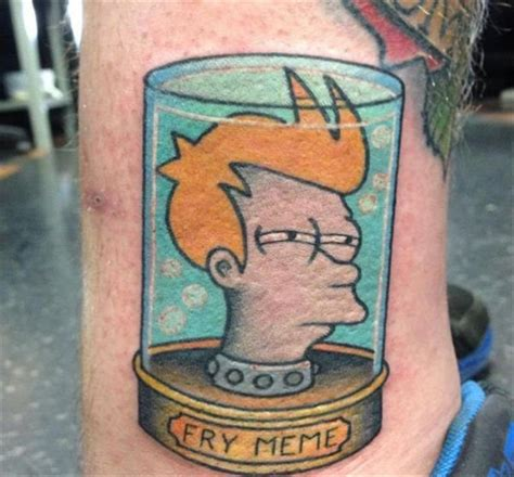 Meme Tatto - funny memes come and go but meme tattoos are forever 16 pics daily lol pics