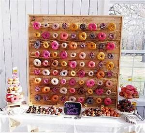 Wedding Catering Trend: 34 Donut Walls HappyWedd com
