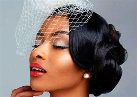 black wedding hairstyles  black women