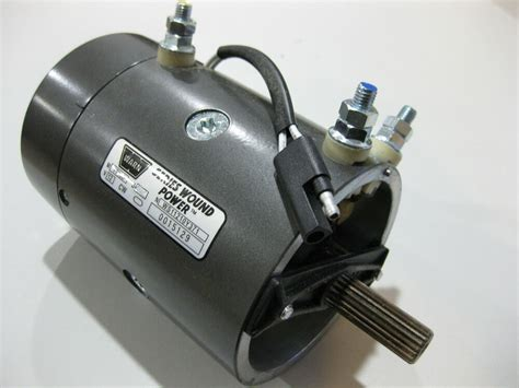 Replacement Electric Motors by Genuine Warn 68773 New Replacement 12 Volt Electric Winch