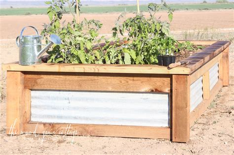 Garden In A Box by Diy Raised Garden Boxes The Wood Grain Cottage