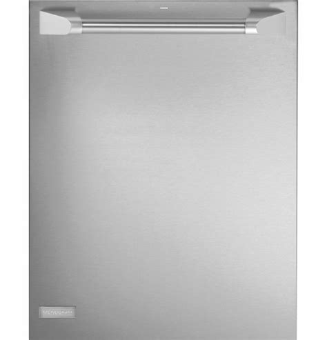 zdtspfss ge monogram  fully integrated dishwasher  pro handle stainless steel