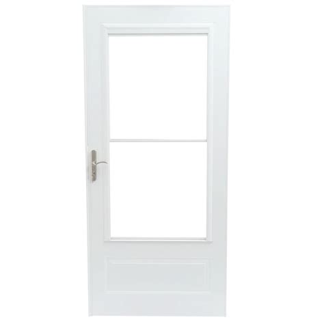 emco 400 series door emco 36 in x 80 in 400 series white universal self