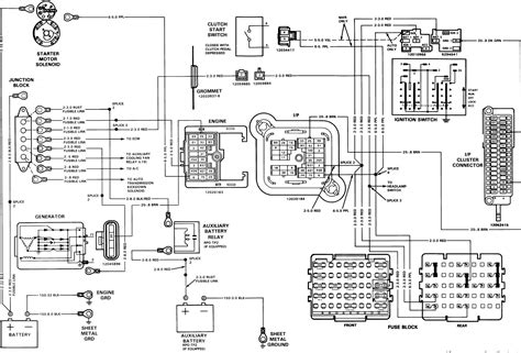 Gmc Ignition Wiring Diagram by Gmc Silverado Ignition Diagram Wiring Diagram Database