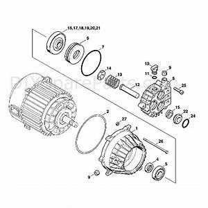 Stihl Re 102 K Pressure Washer  Re 102 K  Parts Diagram  B