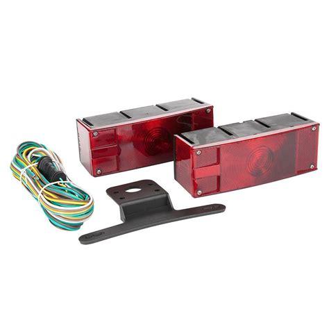 trailer light kit towsmart low profile trailer light kit 1433 the home depot