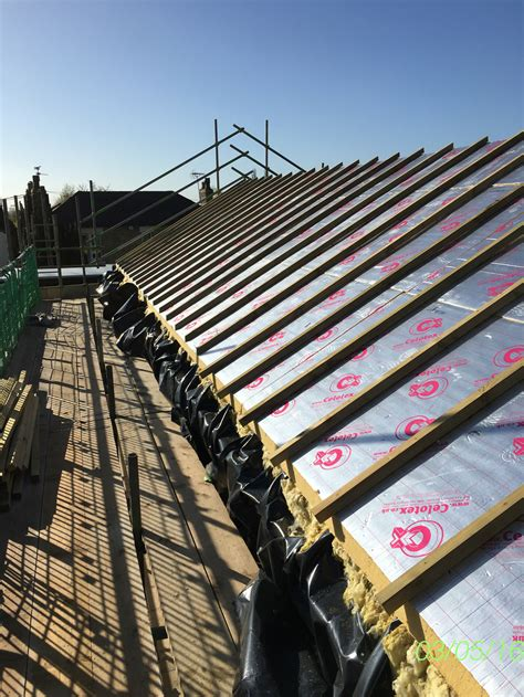 lightweight metal roof tiles  warm roof