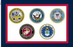 Official US Armed Forces Flags
