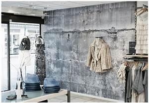 Tapete In Betonoptik : tapeten in betonoptik industrial style retail displays pinterest concrete walls ~ Markanthonyermac.com Haus und Dekorationen