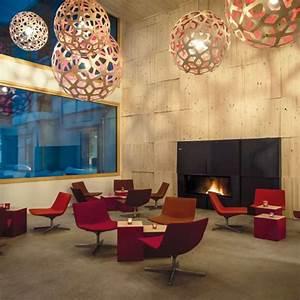 Suspension Design Salon : coral lampe contemporaine en bois pour cuisine salon chambre declin en naturel couleur ou ~ Melissatoandfro.com Idées de Décoration