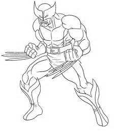 HD wallpapers wolverine and the x men free coloring pages