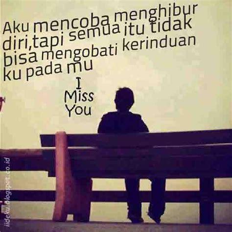 gambar kata kangen jarak jauh  kekasih tercinta
