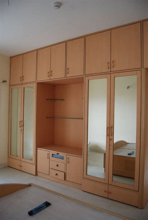 Clothes Cupboard With Mirror by Built In Wardrobe Around Bed Search Furniture