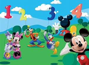Wmf Kinderbesteck Mickey Mouse Friends : mickey mouse and friends wall mural ~ Bigdaddyawards.com Haus und Dekorationen