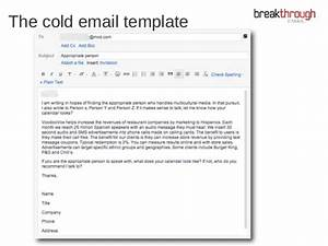 Cold emailing how i discovered the secret to cold for Cold calling email template