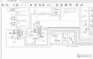 Komatsu Pw140-7 Vebm410101 Electric Diagram