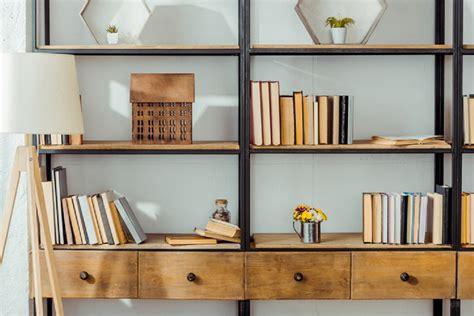 mudah membuat lemari buku jadi lebih teratur rapi