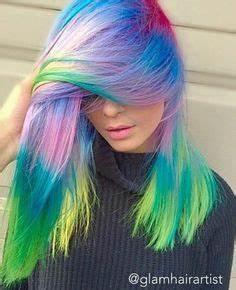 1000 ideas about Rainbow Dyed Hair on Pinterest