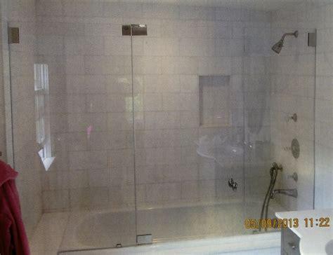 Appealing Frameless Bathtub Shower Doors Photo