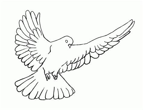Dove Coloring Page White Dove Coloring Page Coloring Home
