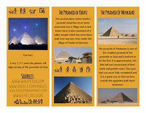 6 best images of egypt travel brochure project 6th grade for Ancient egypt brochure