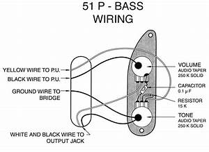 Fender P Bass  U0026 39 51- U0026 39 55 Wiring Mod - Help Needed Please