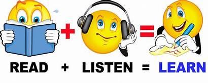 English Reading Listen Learn Read Happy Help