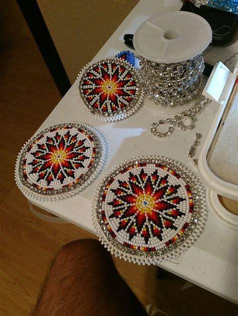pin  michael pilant  choctaw beadwork indian