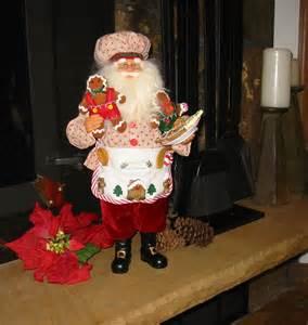 collectible themed santa traditional santa clause whimsical santa clause bykaren didion