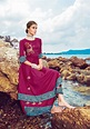 Kiana Parker Fancy Designer Printed Rayon with Embroidery ...