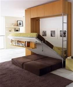 1000 images about lits escamotables sur mesure on With armoire lit escamotable avec canape