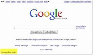 So andert man das hintergrundbild der google seite tipps for Google docs hintergrundbild