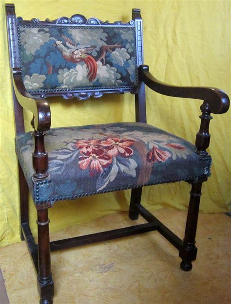 tapisserie bureau fauteuil bureau siége tapisserie st h ii renaissance 19ème