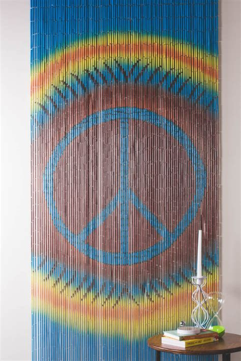 bamboo curtain tie dye peace earthbound trading co