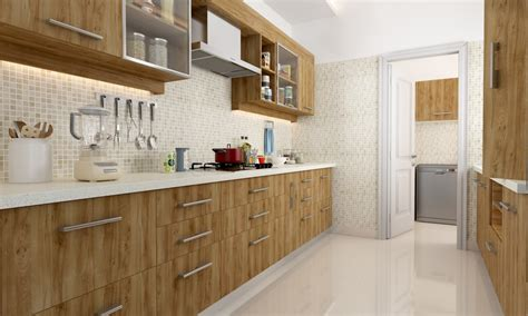 buy jenner parallel modular kitchen   india