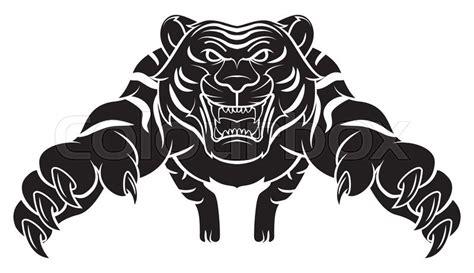 tiger stock vector colourbox
